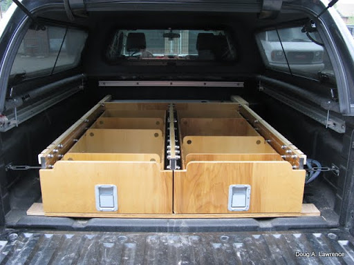 Latest Project Truck Drawers Sleeping Platform