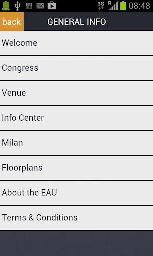 EAU Milan 2013