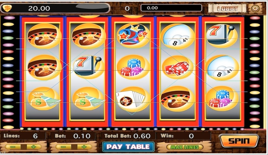 Mega Gambling Slot Machines - screenshot