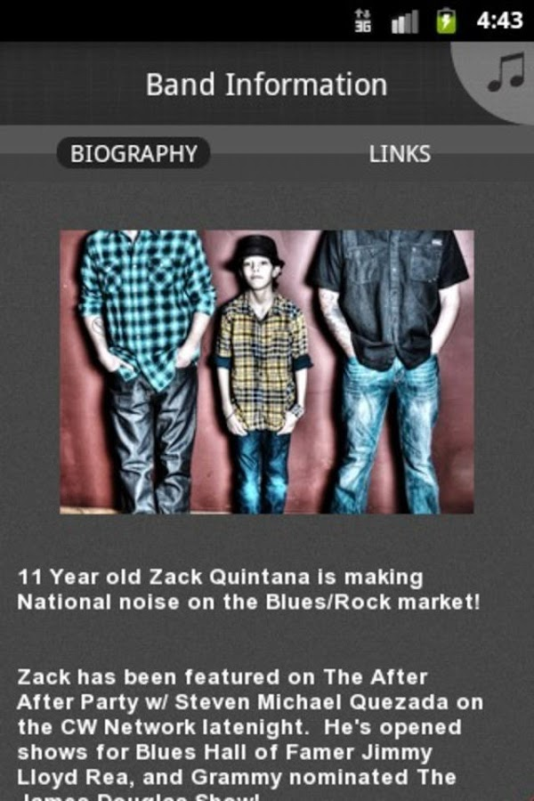 The Zack Quintana Trio - screenshot