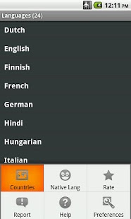 Tourist language learn & speak - screenshot thumbnail
