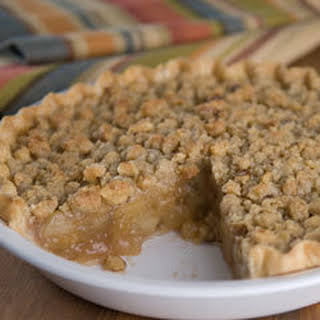Apple-walnut Crumb Pie.