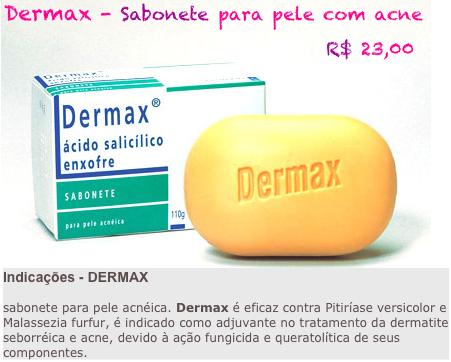 dermax sabonete