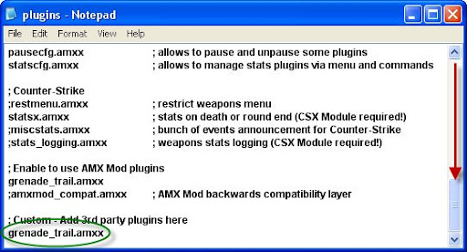 Counter Strike And Other Games: How to Add Plugins In Cs 1 6