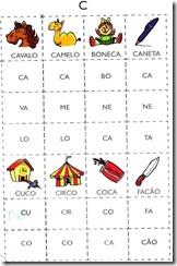 jogo das sílabas C