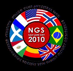 2010年NGS家族历史会议