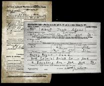 内战养老金申请和第二次世界大战草案