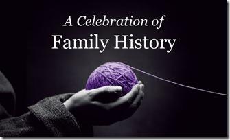 庆祝家族史, sponsored by FamilySearch