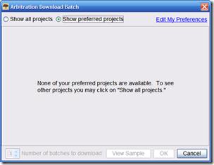 通过FamilySearch索引,批次下载窗口中没有项目