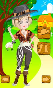 Farmer Girl Dress Up Games- screenshot thumbnail