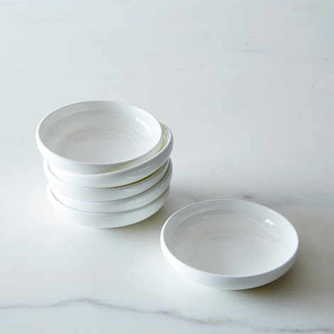 Purio White Condiment Bowls (Set of 6)