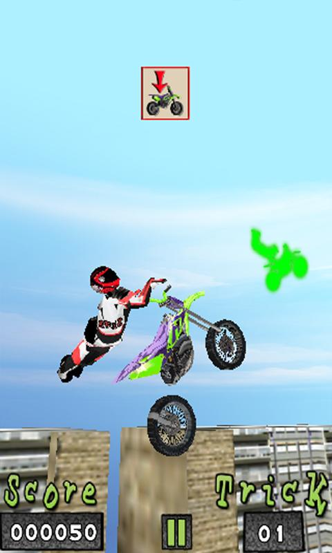 eXtreme MotoCross Free- screenshot