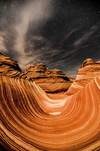 The Wave by Jeremy Jordan - Landscapes Caves & Formations ( north coyote buttes, instagram, the wave, google plus, travel, landscape, photography, hiking, twitter, sky, nature, stars, facebook, astrophotography, night,  )