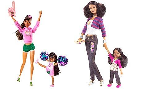 "For the first time for 30 years in Britain there will be ""black"" Barbie"