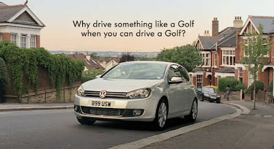 Agency DDB London represents new Volkwagen Golf