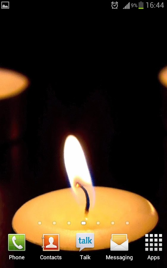 Candle Livewallpapaer - screenshot