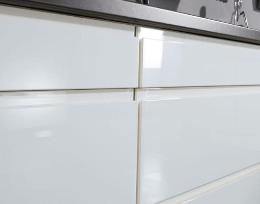 wellmann w7 775 618 grifflose einbauk che zweizeilig. Black Bedroom Furniture Sets. Home Design Ideas
