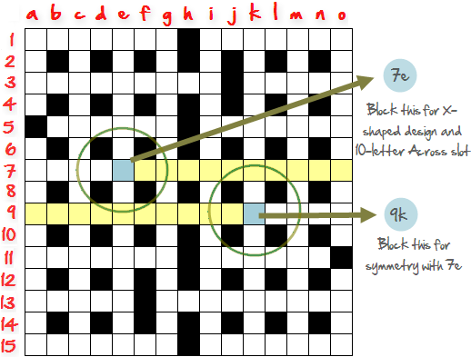 How To Create Crossword Grid Step7