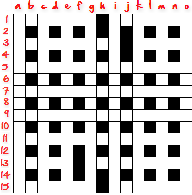 How To Create Crossword Grid Step4