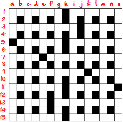 How To Create Crossword Grid Step8