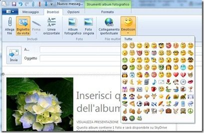 inviare messaggio windows live writer 2011