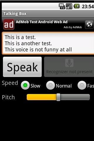 Talking Box - screenshot