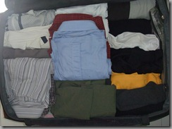 My wardrobe in my bag