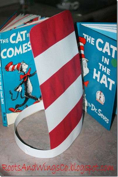 dr seuss day cat in the hat book