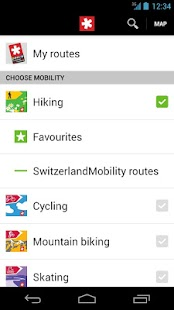 SwitzerlandMobility- screenshot thumbnail