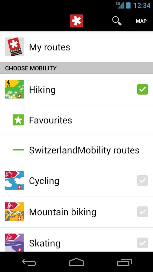 SwitzerlandMobility- screenshot