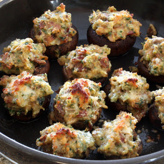 Stuffed Mushrooms With Clams