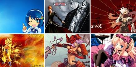 Fondos de pantalla de Manga y Anime