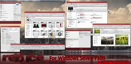 red-windows-7-theme