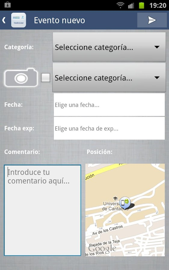 PulsodelaCiudad- screenshot