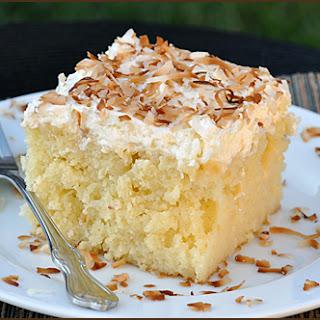 Creamy Coconut Cake.