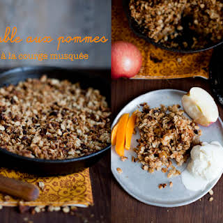 Apple & Butternut Squash Crumble.