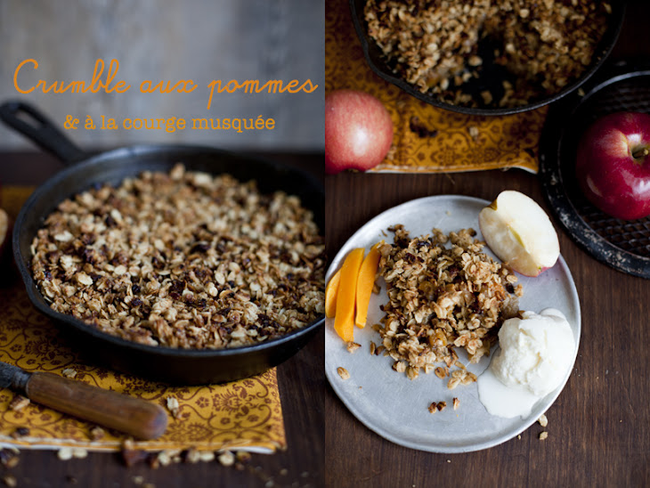 Apple & Butternut Squash Crumble Recipe