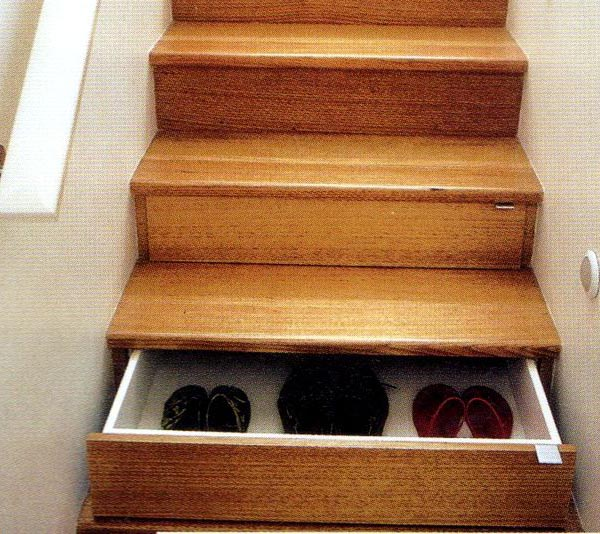 Innovative Concepts in Lifestyle - Shoe Rack Stairs
