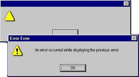 Funny Computer Errors [Weird Error Messages, Dumb Dialog Boxes]