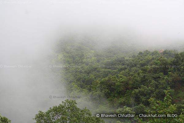 I name it dreamland of Western ghats — Clouds heading to hide huge mountains