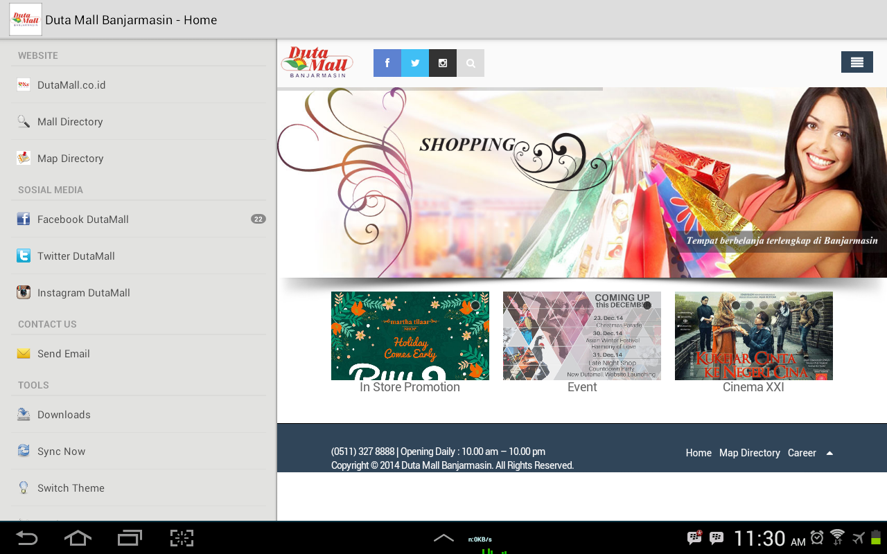 Duta Mall- screenshot