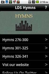 LDS Hymns - screenshot thumbnail