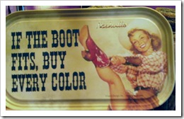 if the boot fits, buy every color