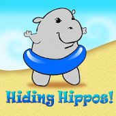 Hiding Hippos Kids Memory Game