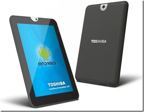 tablet toshiba android
