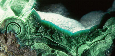 Malaquita y pseudomalaquita-Malachite and pseudomalachite