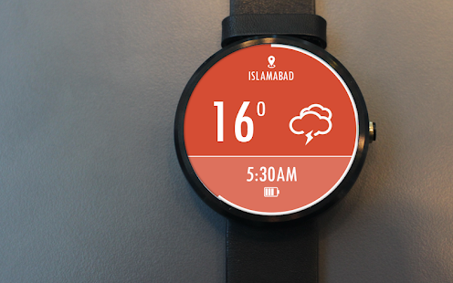 Sky Weather Watch Face -Free- screenshot thumbnail