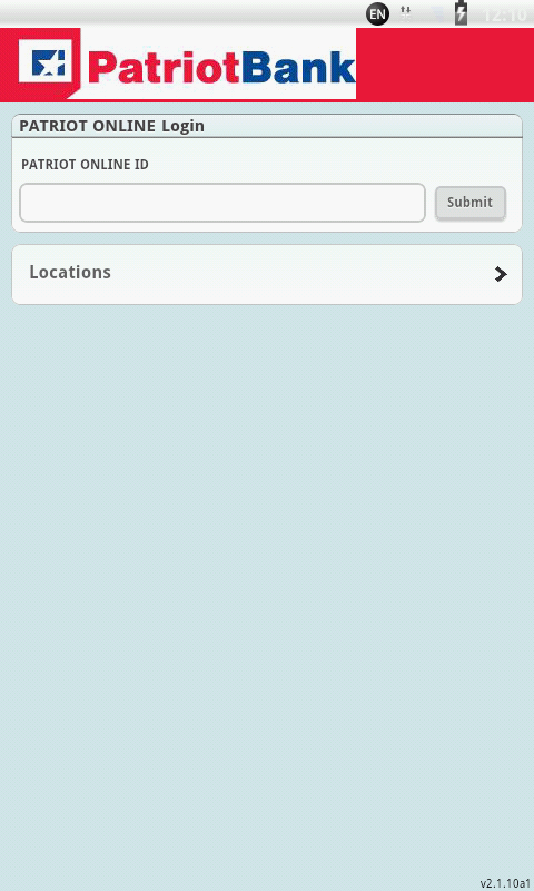 Patriot Bank Mobile Banking - screenshot