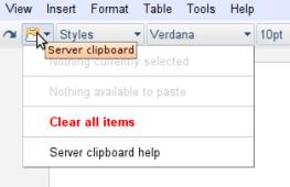 Server Clipboard