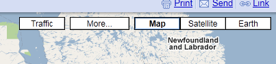 Google Maps Buttons
